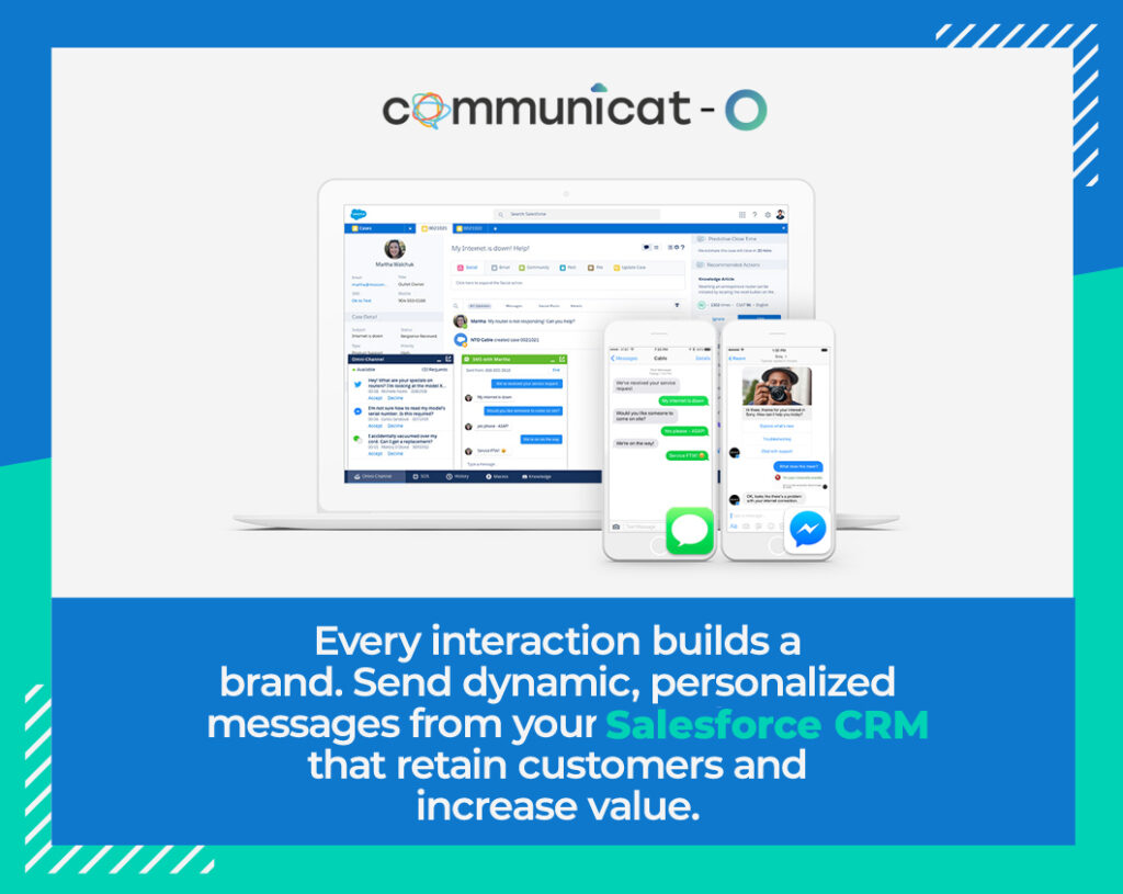 Social Media Chat integration with Salesforce